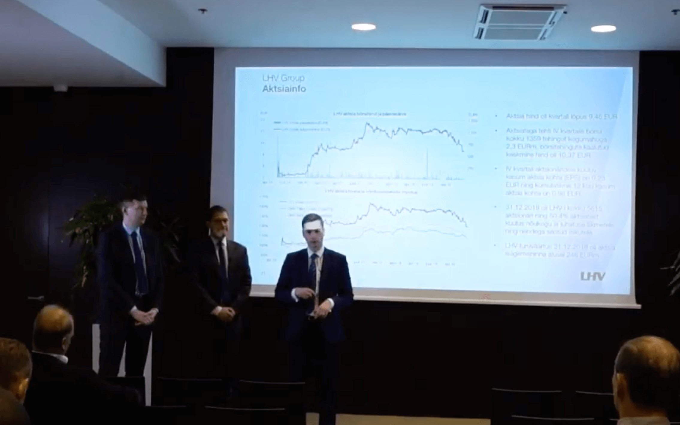 LHV Group презентация для инвесторов 29.01.2019